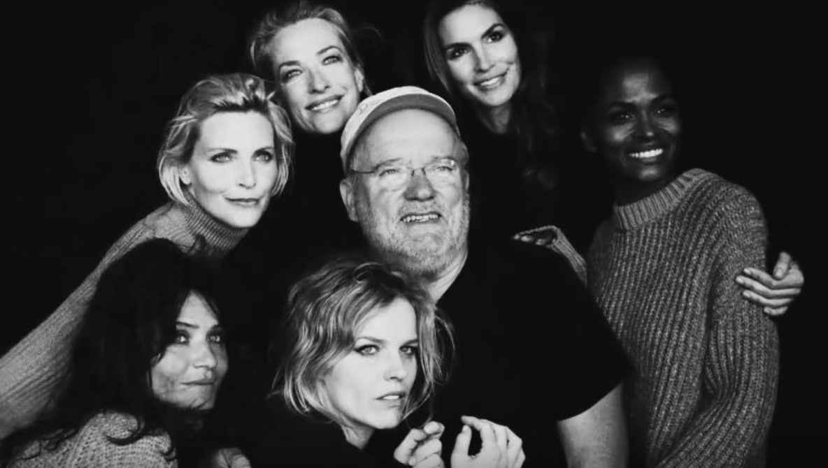 Peter Lindbergh with 90s supermodels