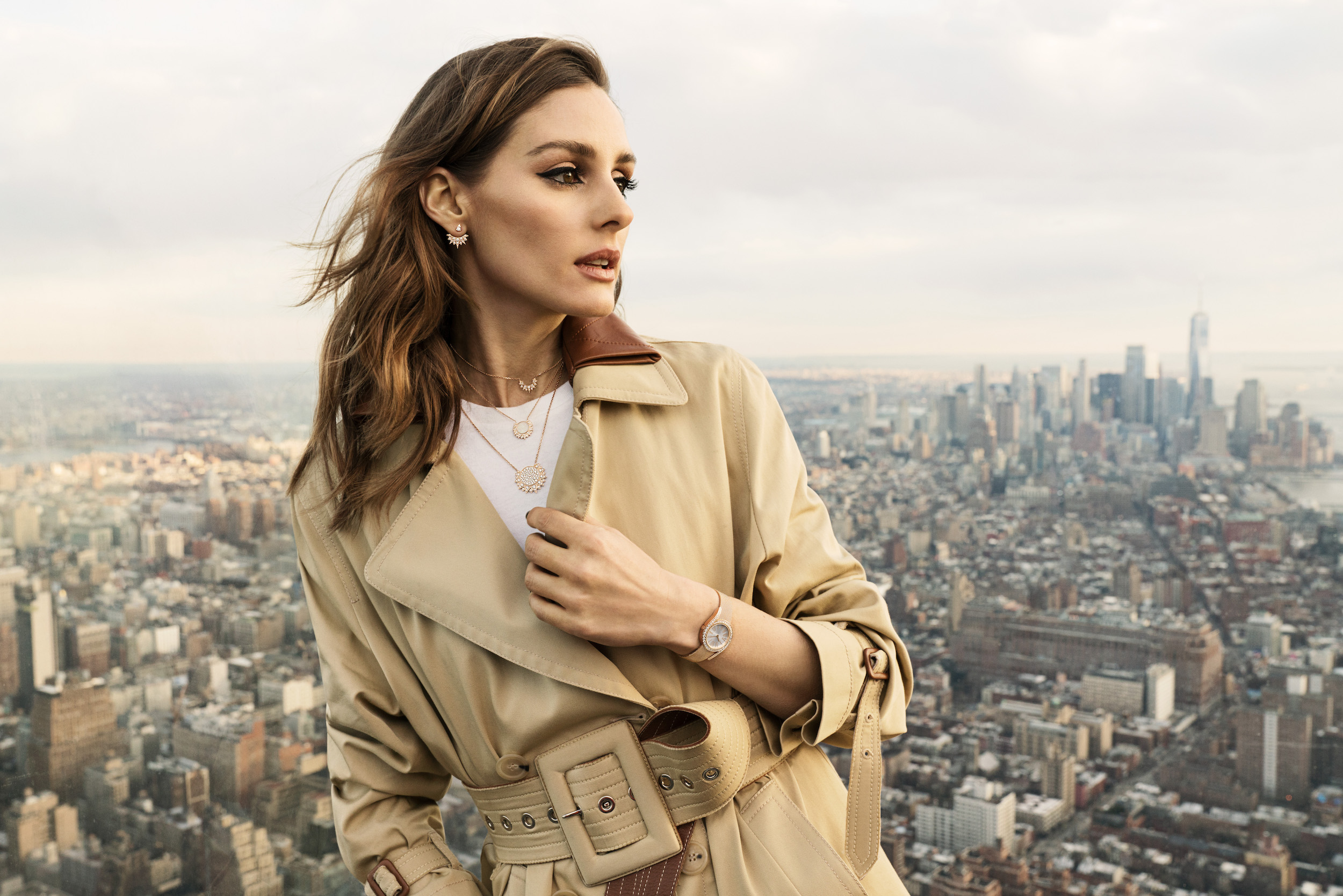 Piaget Sunlight collection starring Olivia Palermo