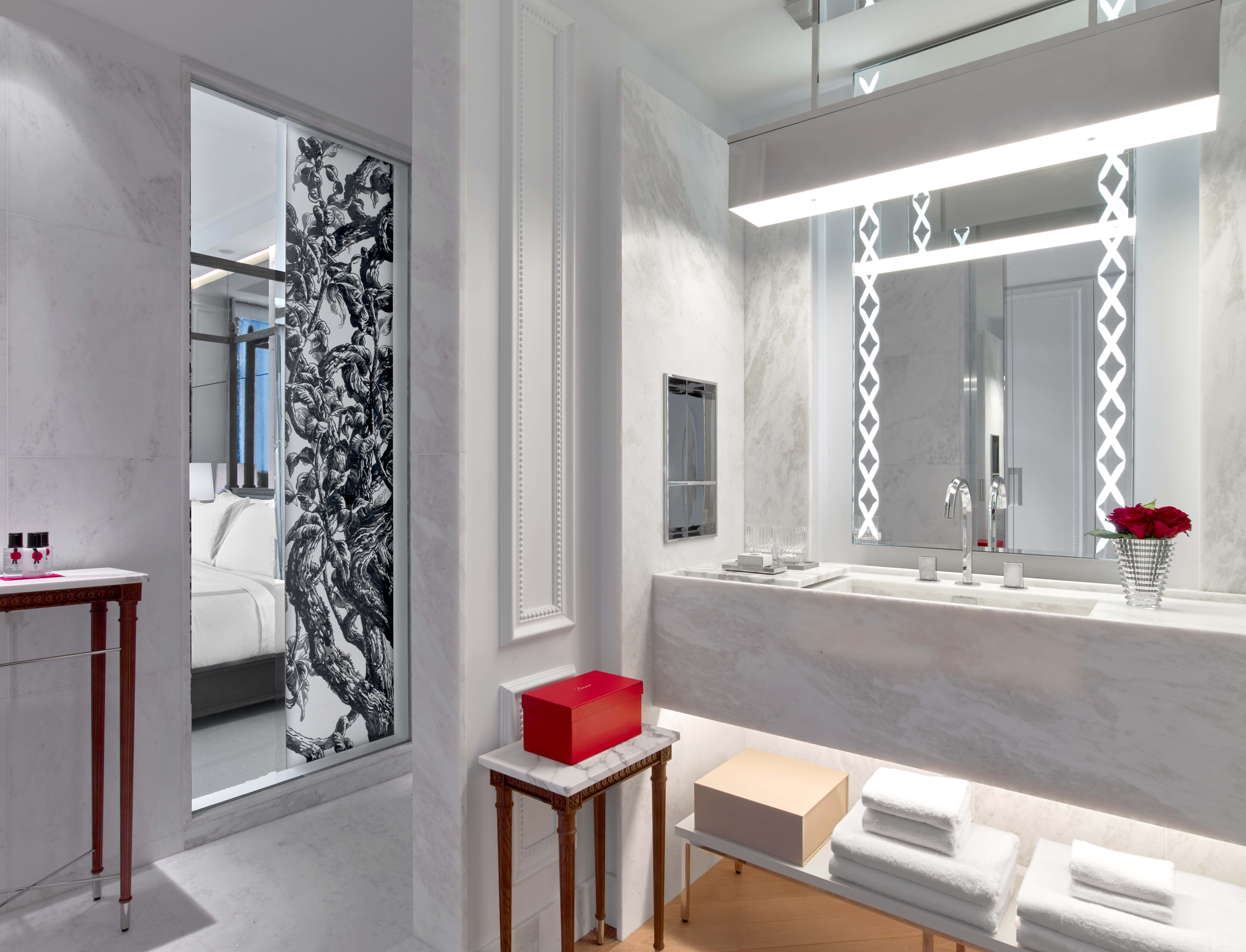 baccarat hotel new york Bathroom