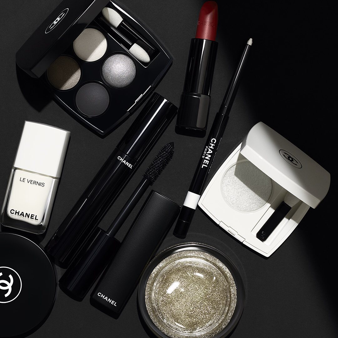 chanel noir et blanc de chanel makeup collection