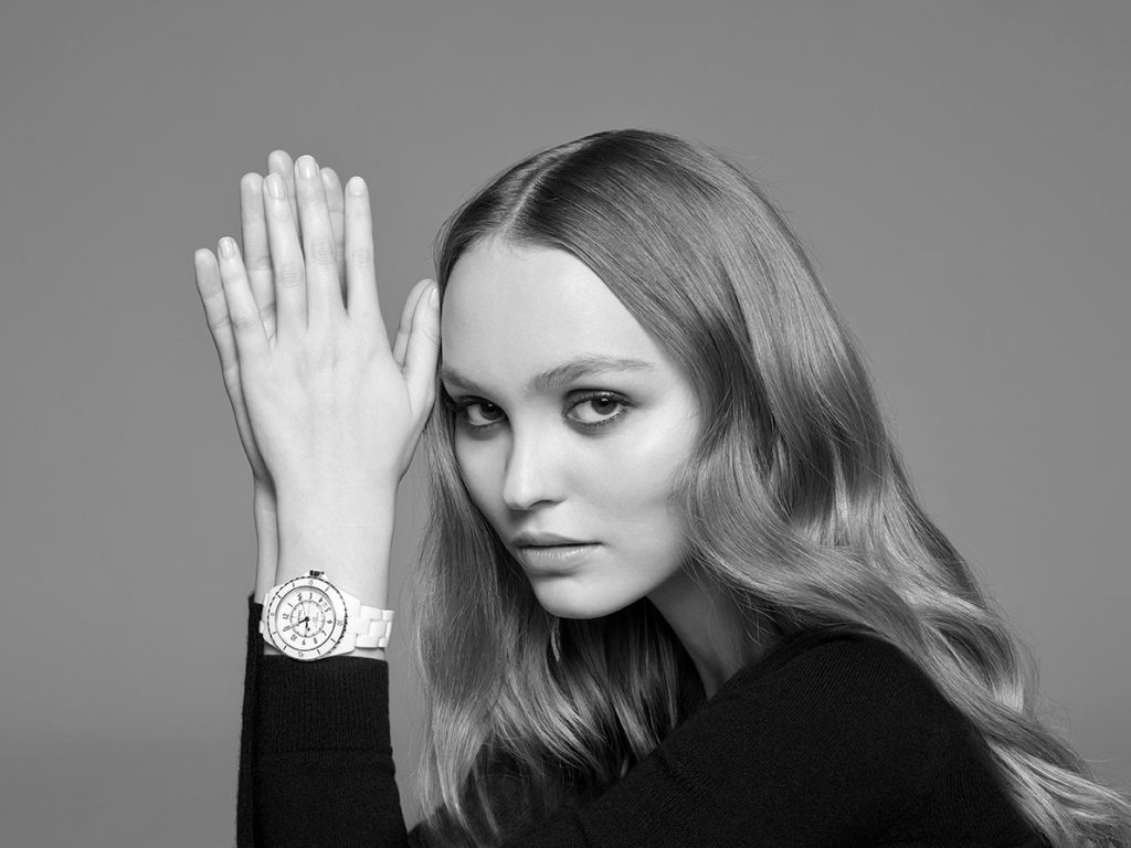 Chanel J12 Campaign starring Lily Rose-Depp