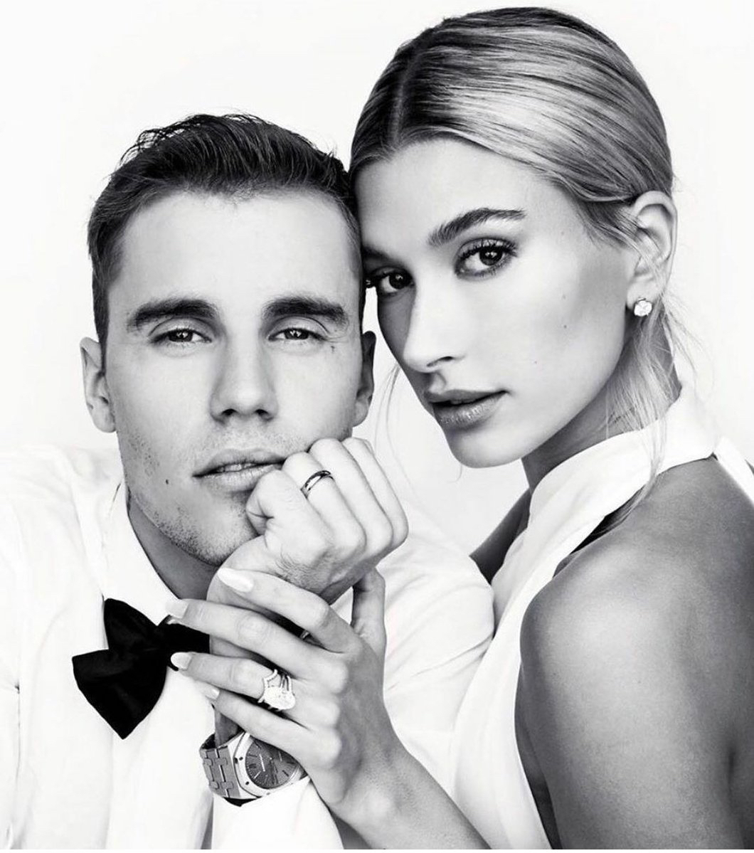 Justin and Hailey Bieber Tiffany and Co rings
