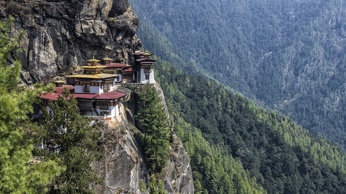 Bhutan panoramic Lonely Planet
