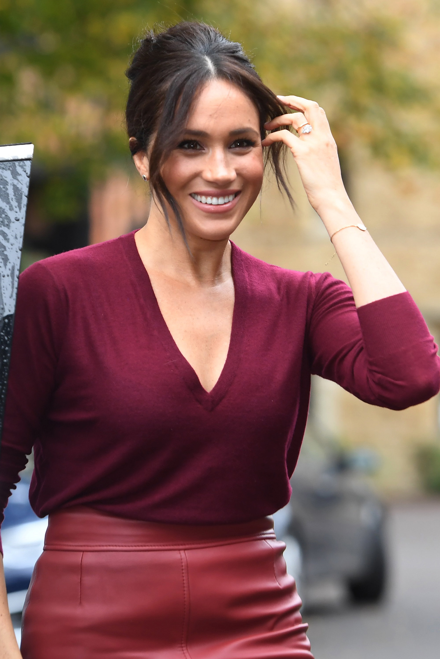 Meghan Brings the Bouffant Back