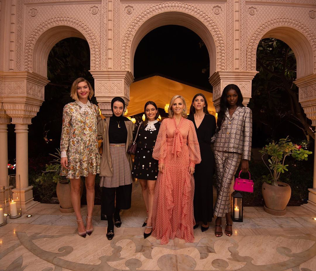 Tory Burch middle east influencers and models