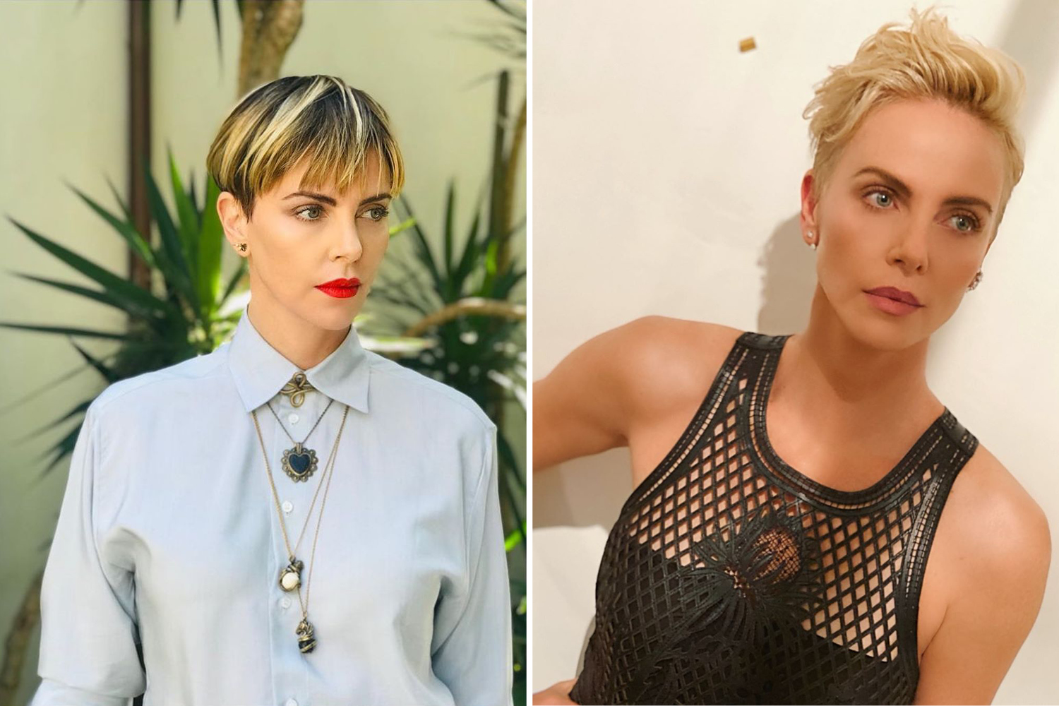 Hair Transformations Charlize Theron