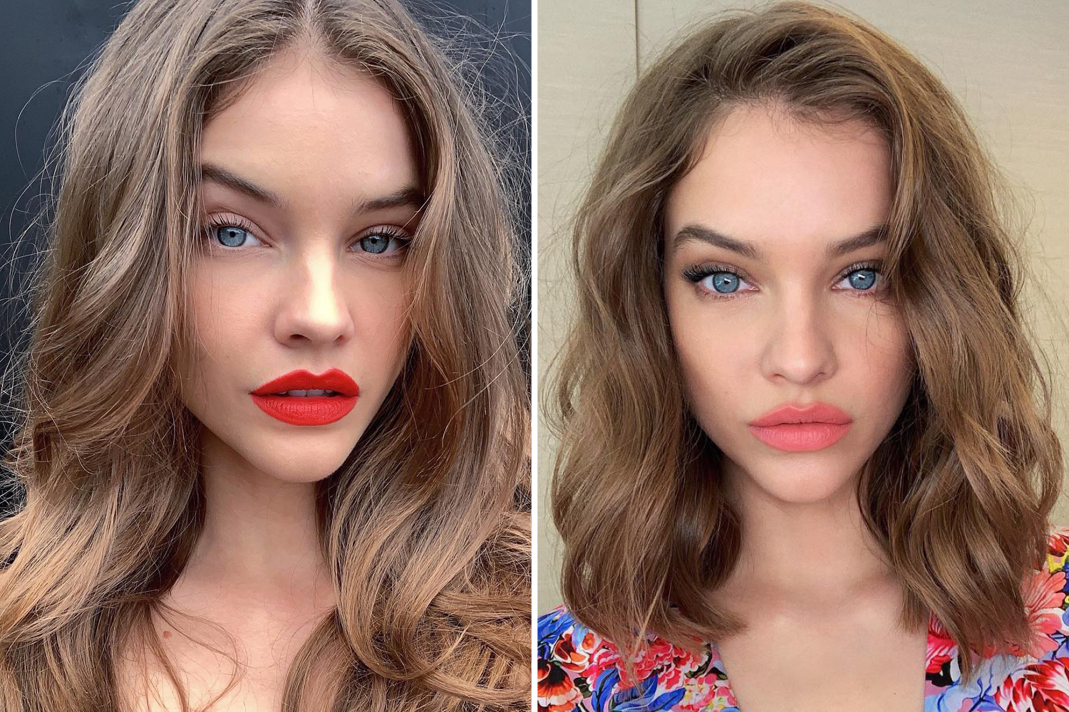 celebrity Hair Transformations 2019 barbara palvin