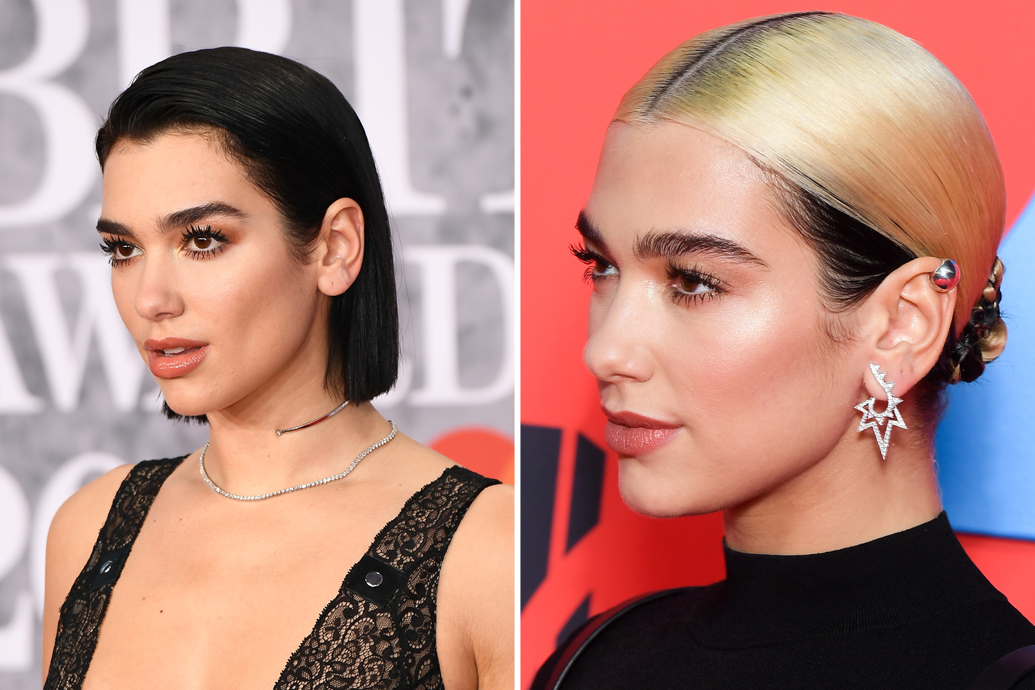 celebrity Hair Transformations 2019 dua lipa