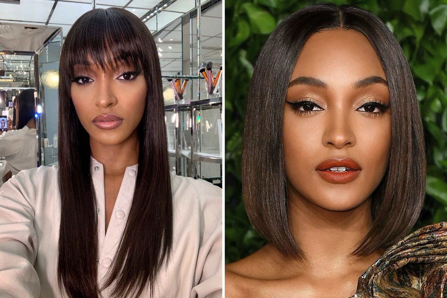 celebrity Hair Transformations 2019 jourdan dunn