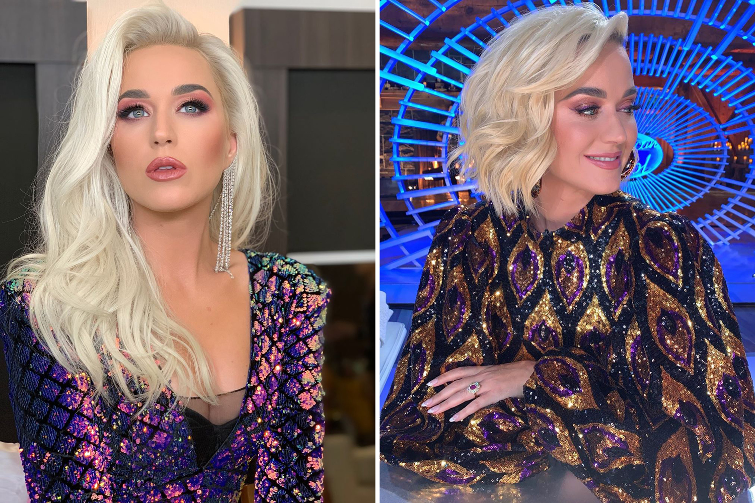 celebrity Hair Transformations 2019 katy perry
