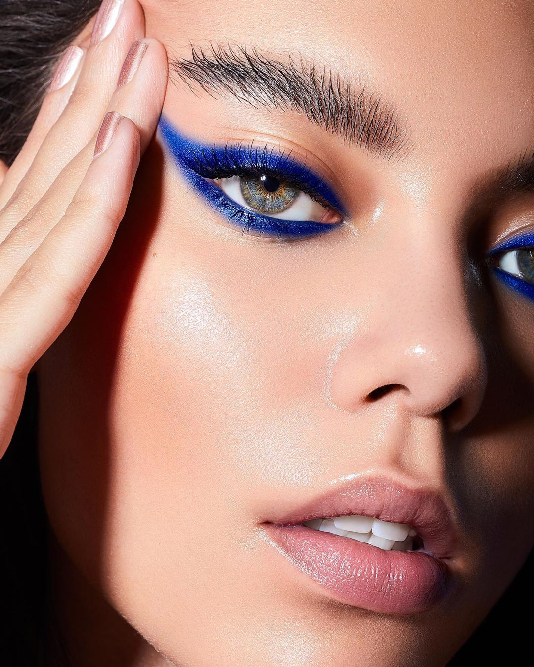 classic blue 2020 pantone beauty makeup