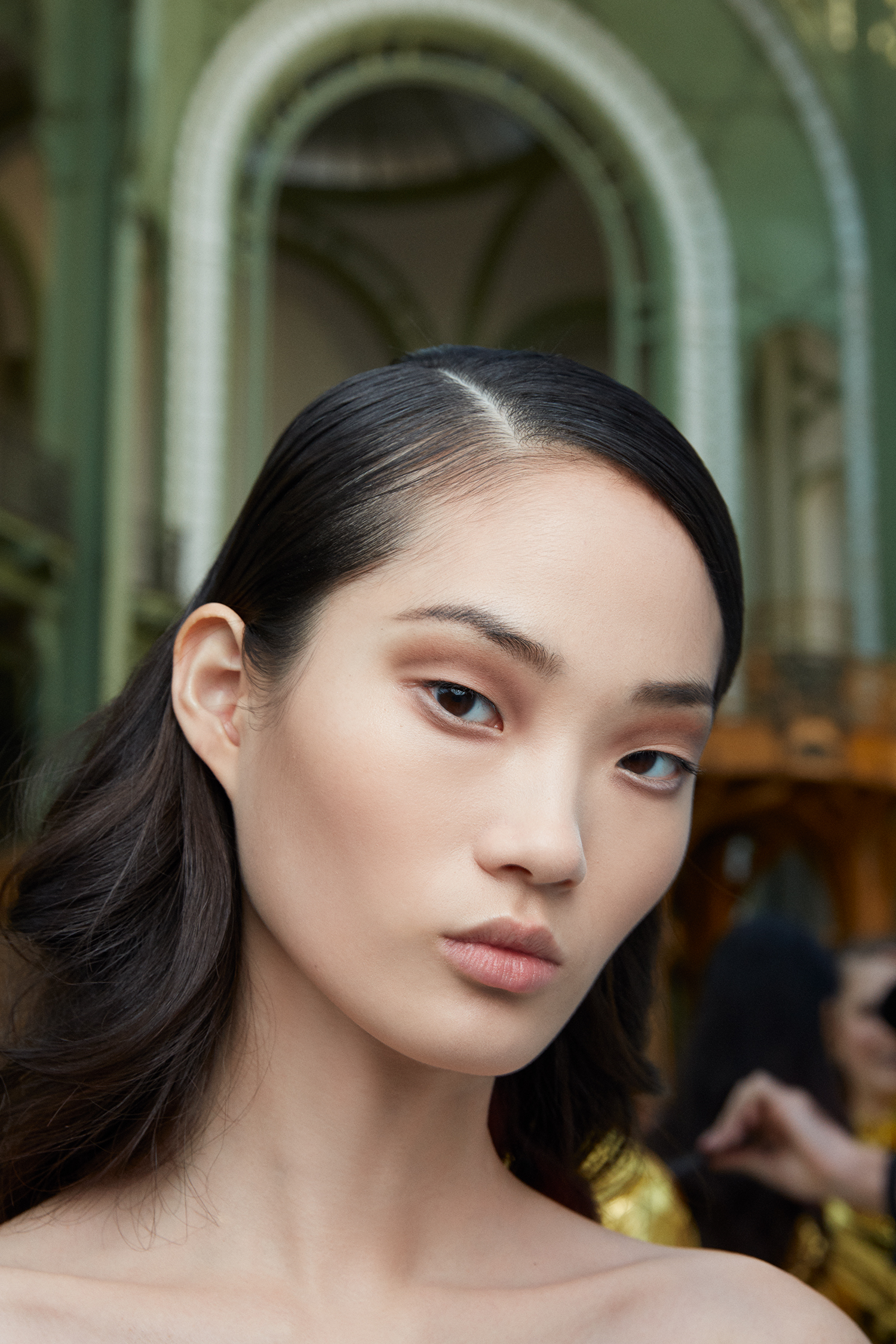CHANEL Haute Couture Spring Summer 2020 makeup beauty