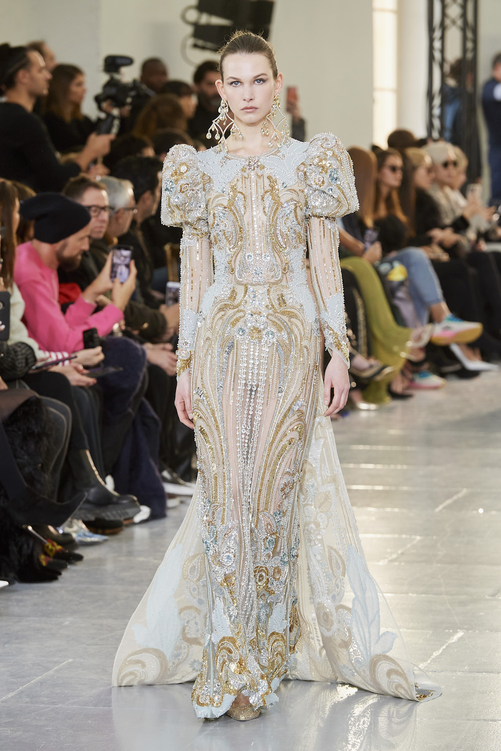 For Spring 2020 Couture, Elie Saab Populated His Castle with Queens