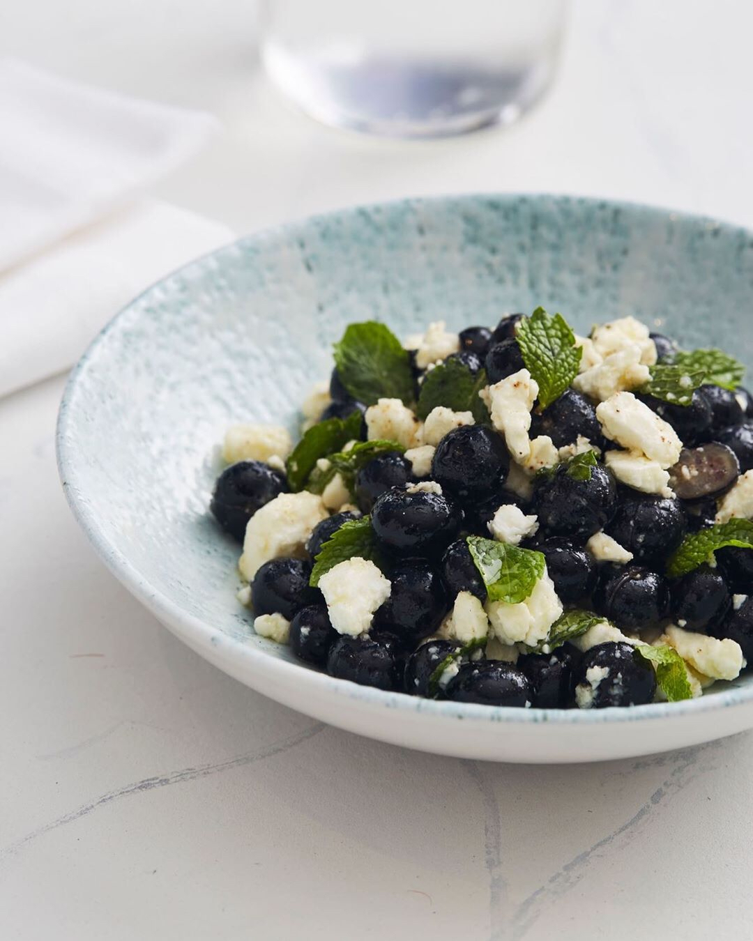 Fixa DXB blueberry feta salad