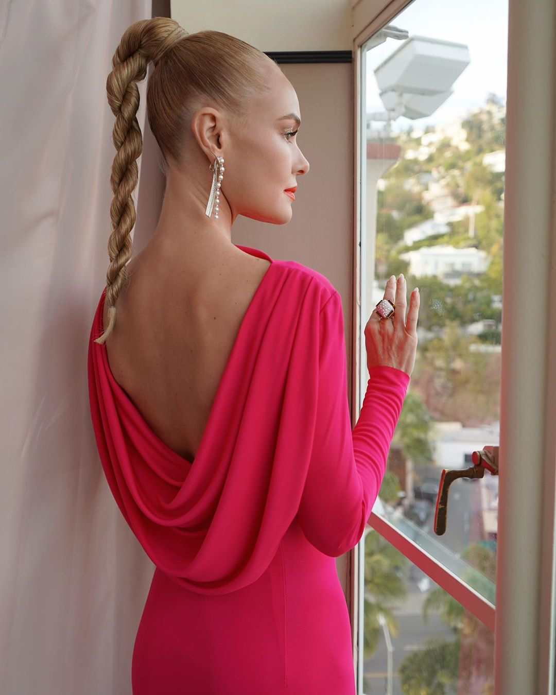 Kate Bosworth high ponytail