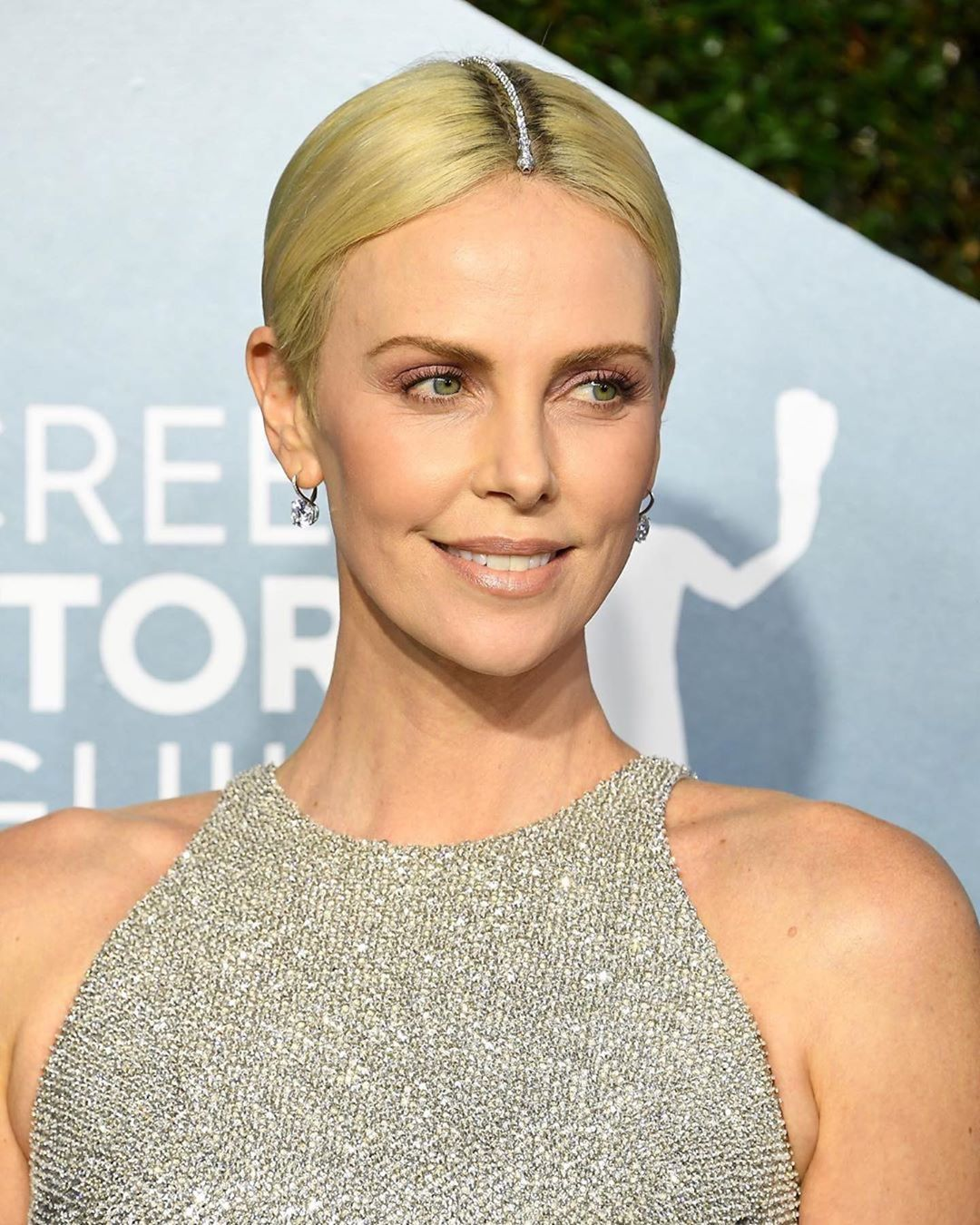 SAG Awards 2020 beauty charlize theron
