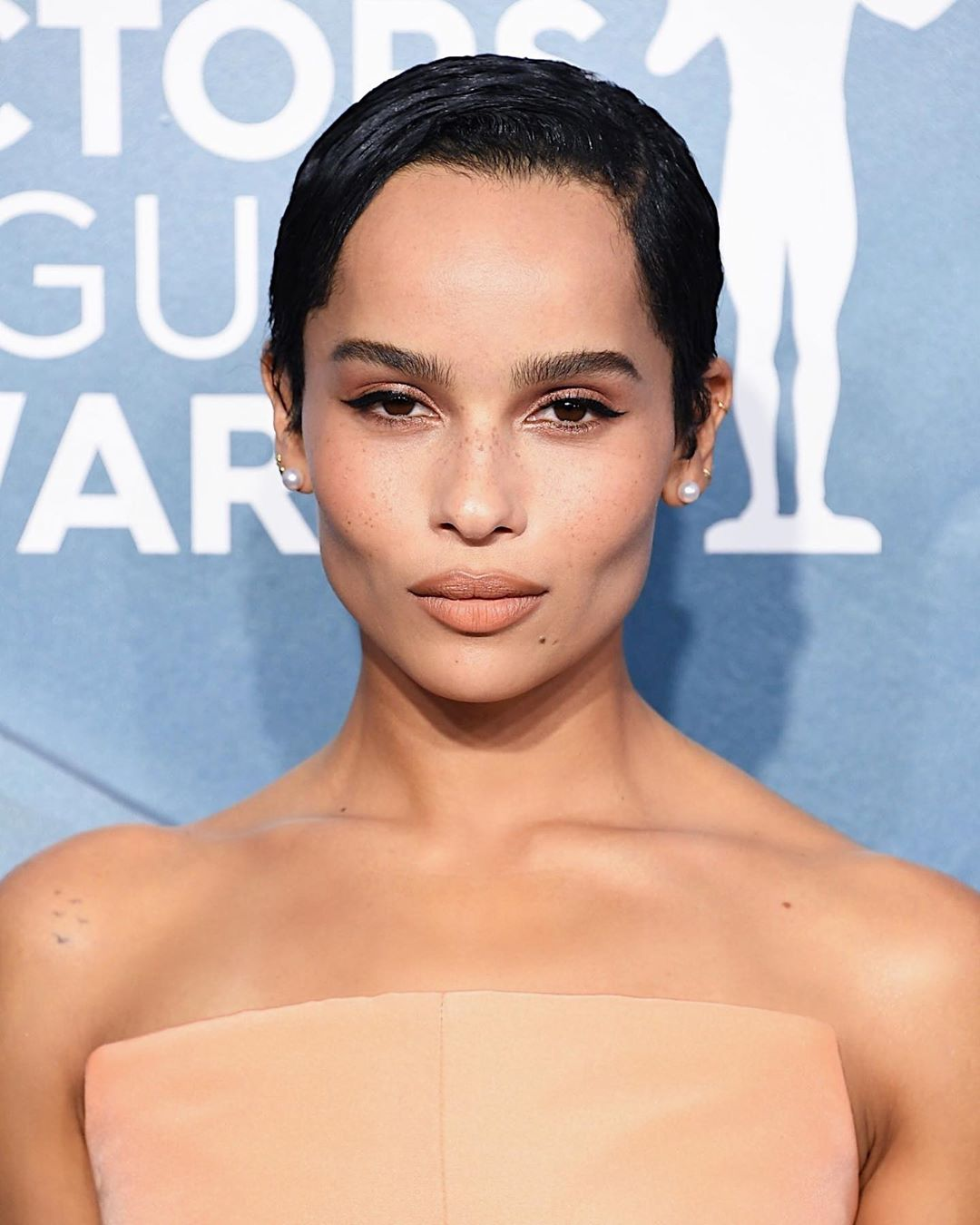 SAG Awards 2020 beauty zoe kravitz