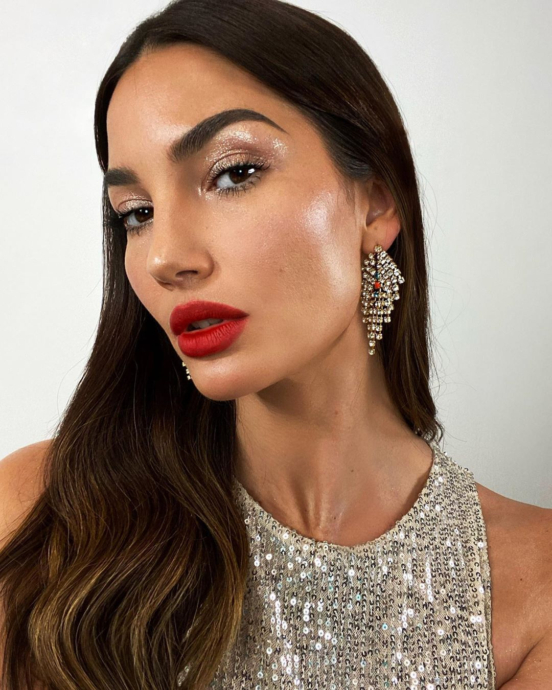 celebrity beauty looks lily aldridge
