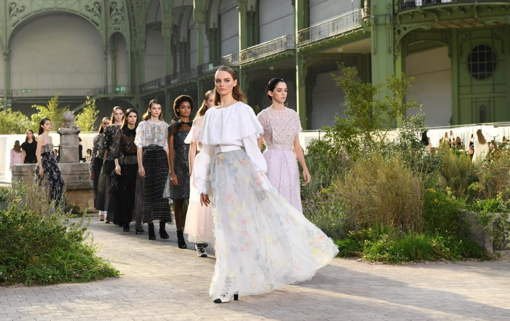 Modesty Matters: Chanel Looks to Coco's Childhood for Spring 2020 Couture