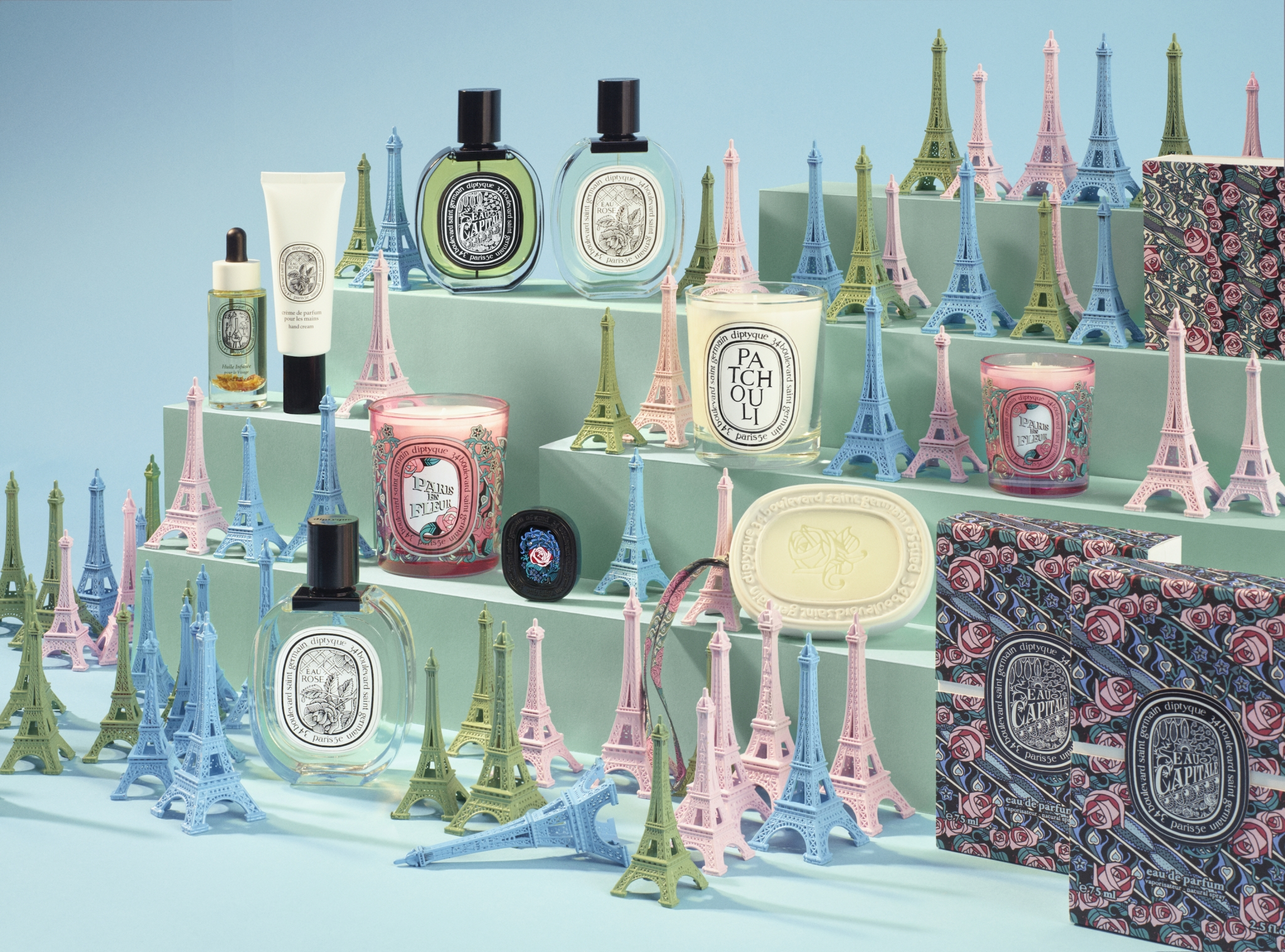diptyque eau capitale collection