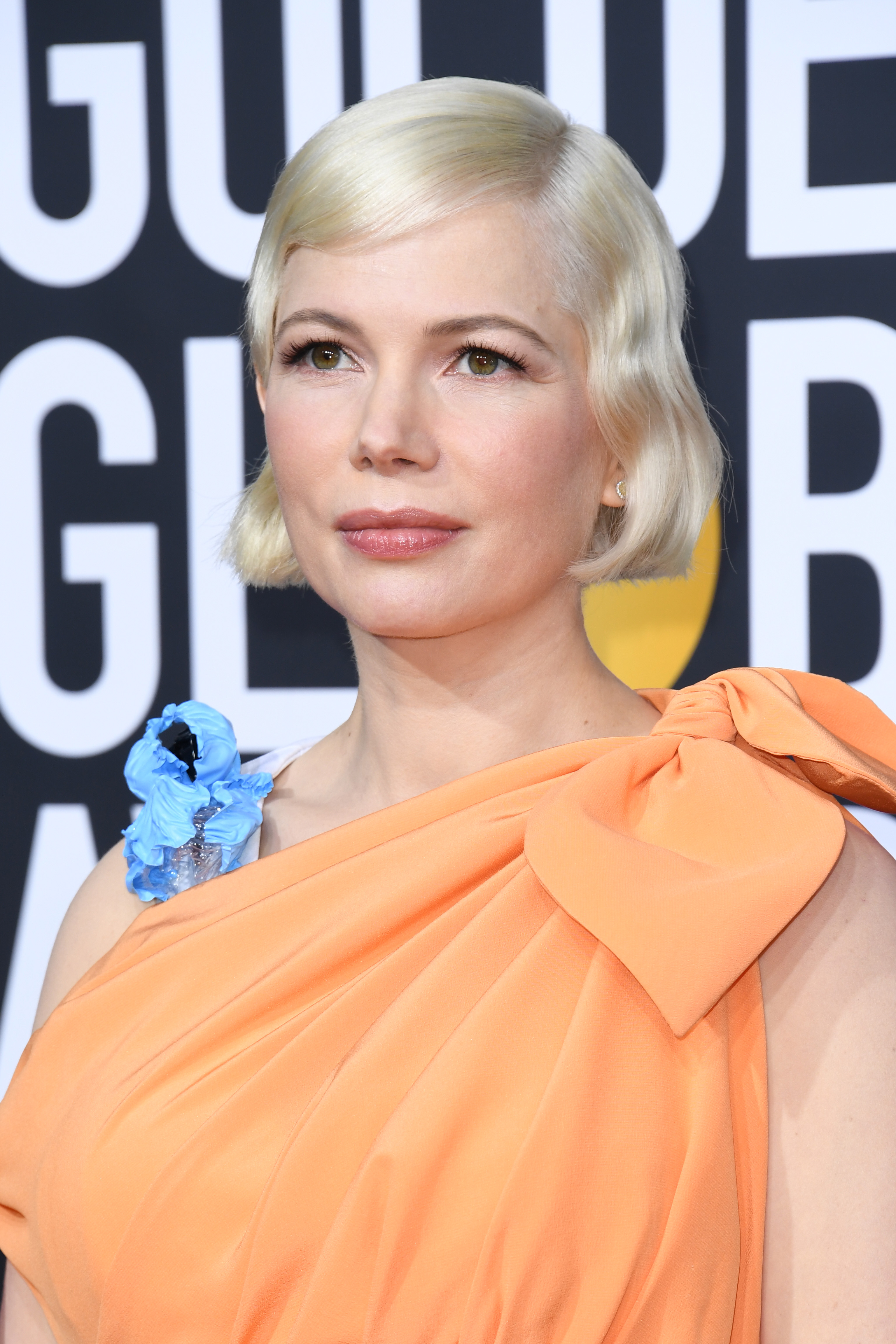 golden globes 2020 beauty michelle williams