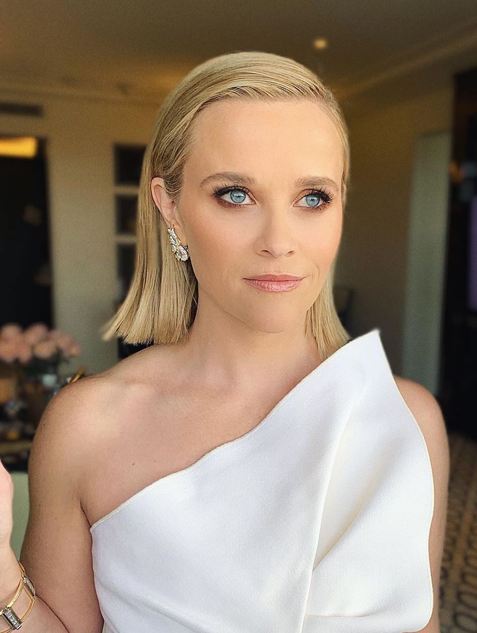 golden globes 2020 beauty reese witherspoon