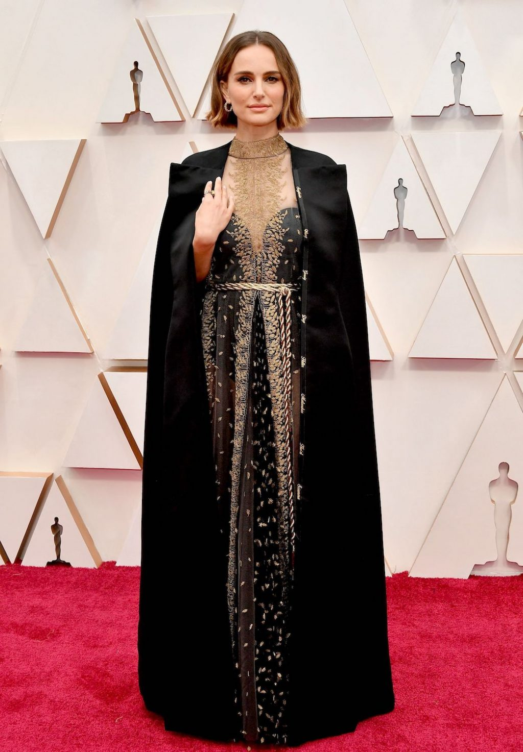 Natalie Portman's Oscars Look Had a Not-So-Secret Message