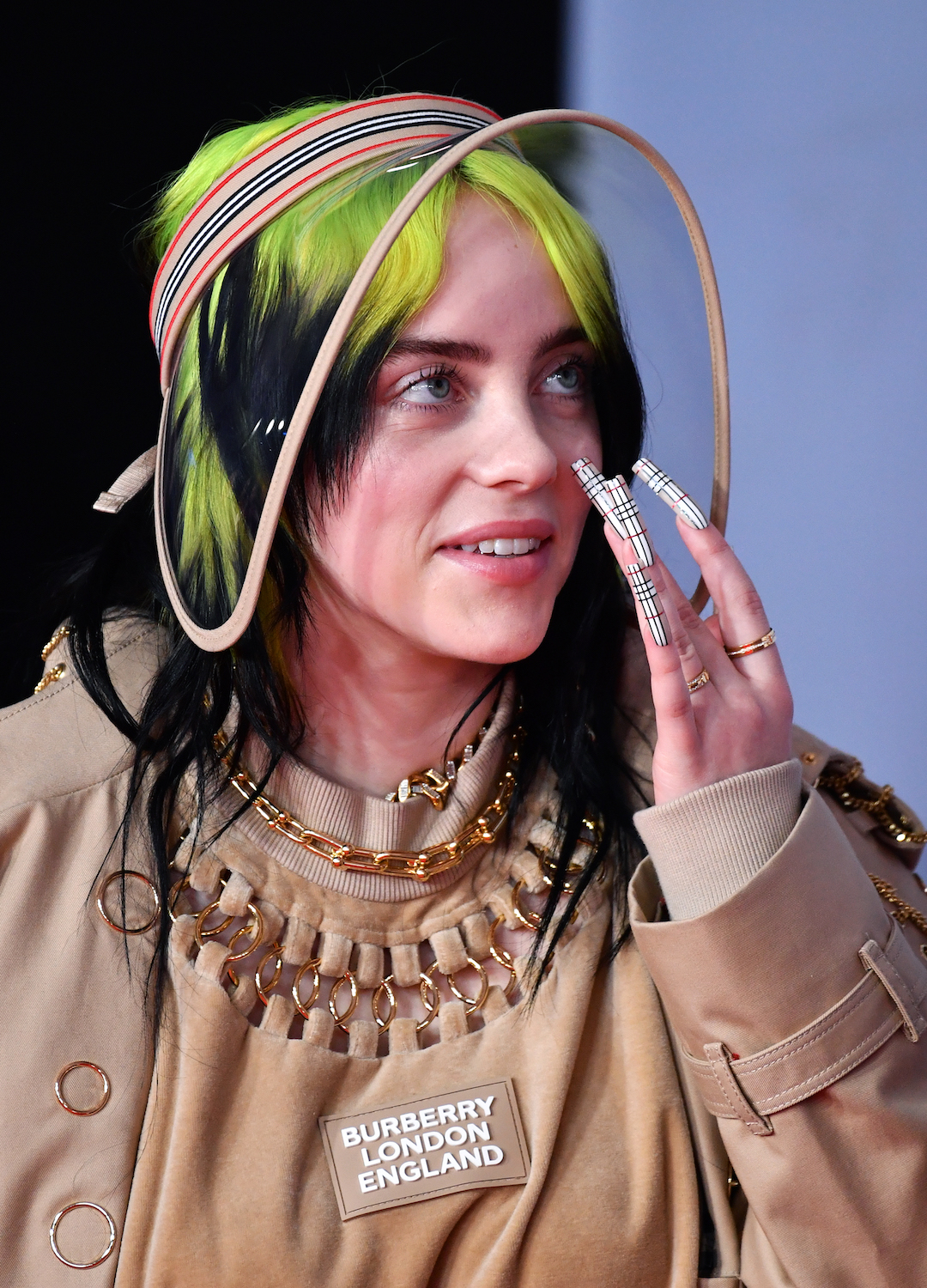 Billie Eilish at The BRITs