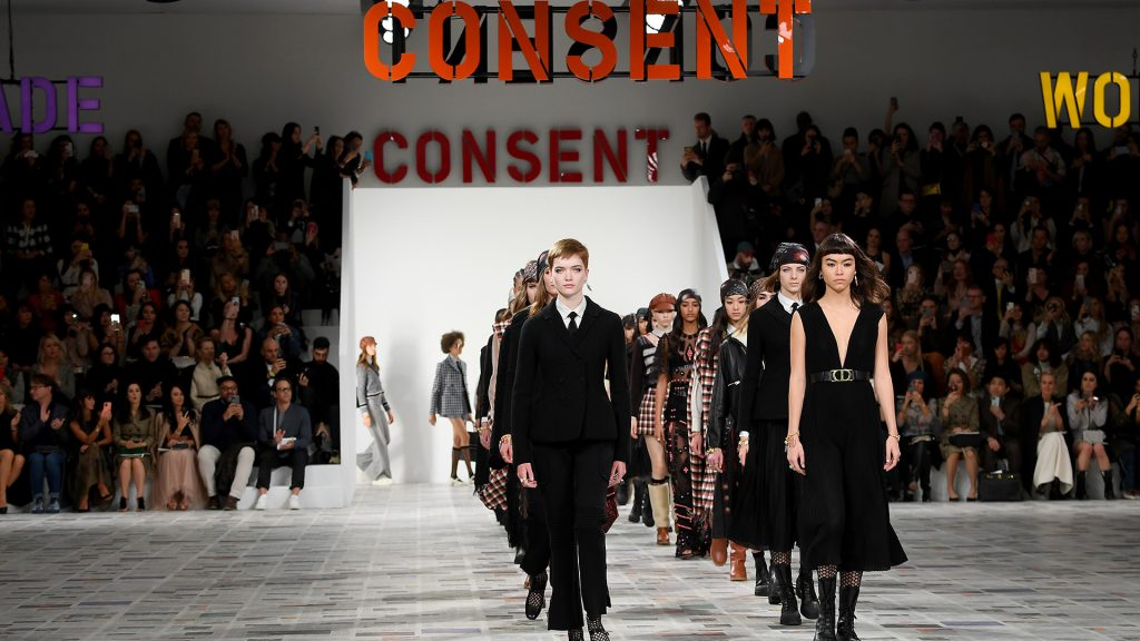 Dior Grapples with the Concept of Consent for Fall/Winter 2020