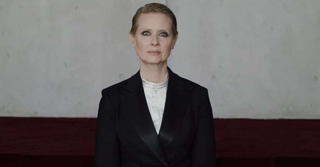 Extra Extra: A Miranda-esque Video Starring Cynthia Nixon Goes Viral