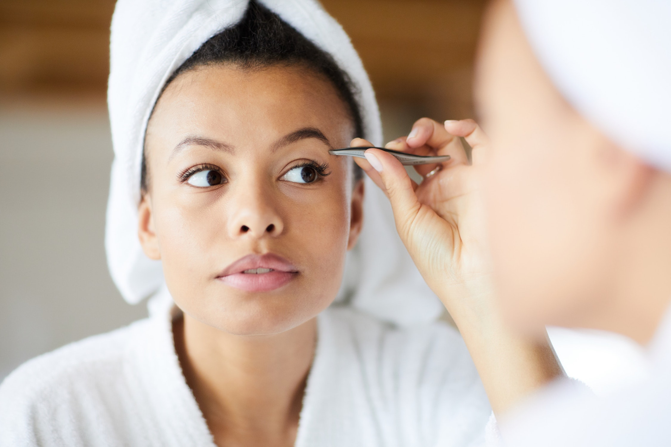 At Home Eyebrow Grooming