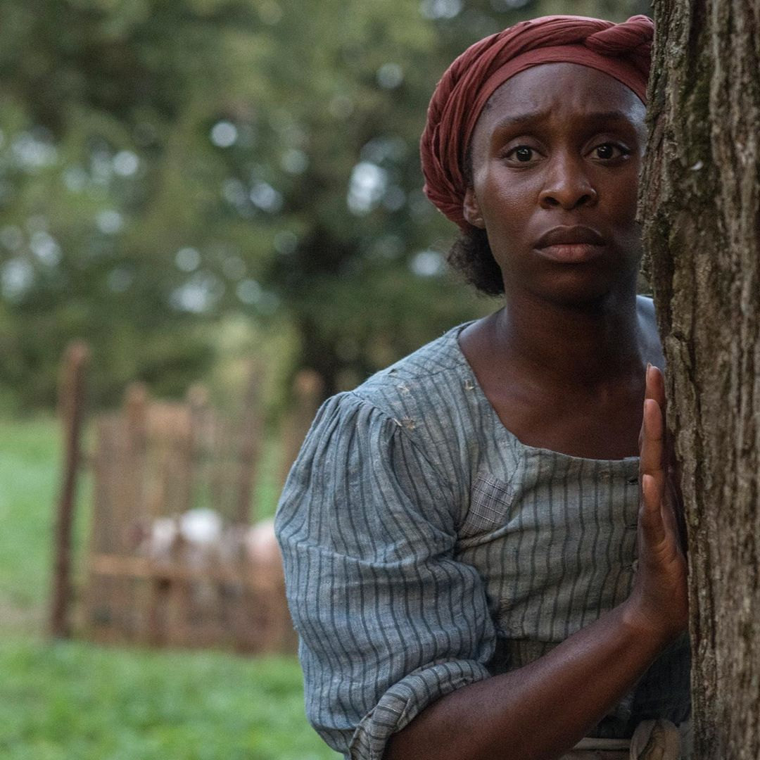 Cynthia Erivo as Harriet Tubman. Courtesy of Focus Features
