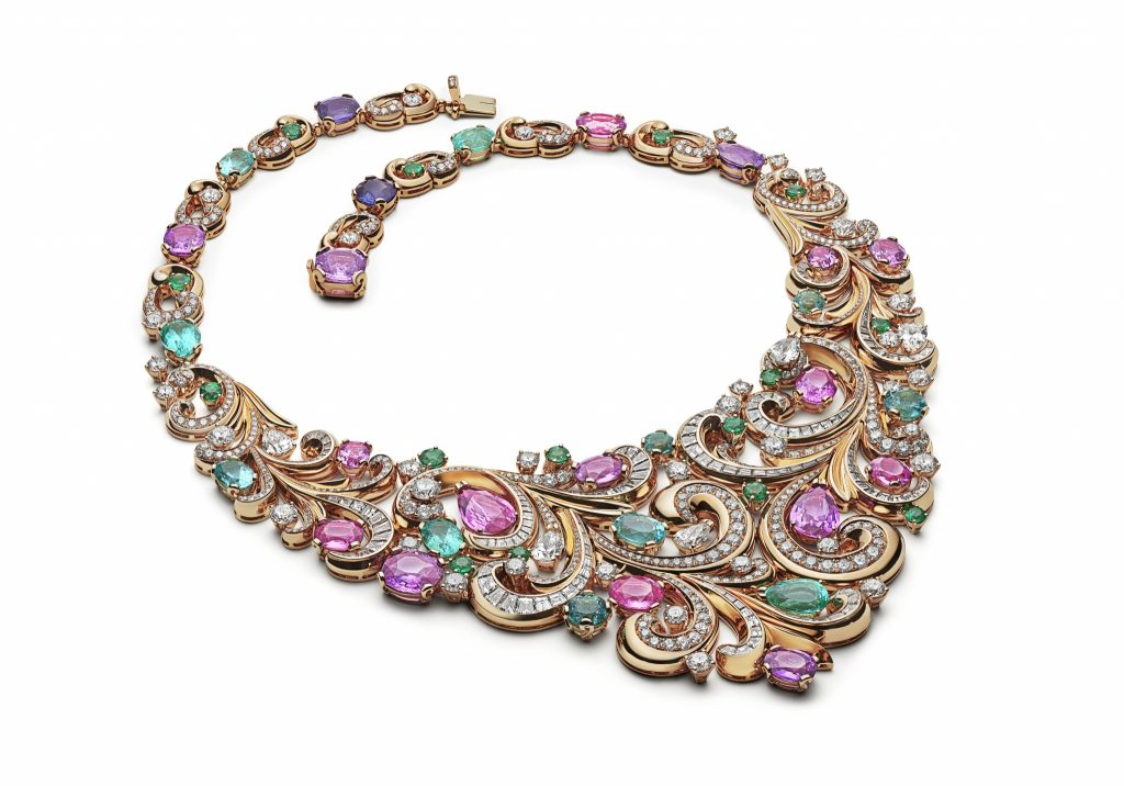 Lady Arabesque Barocko Bvlgari high Jewelry