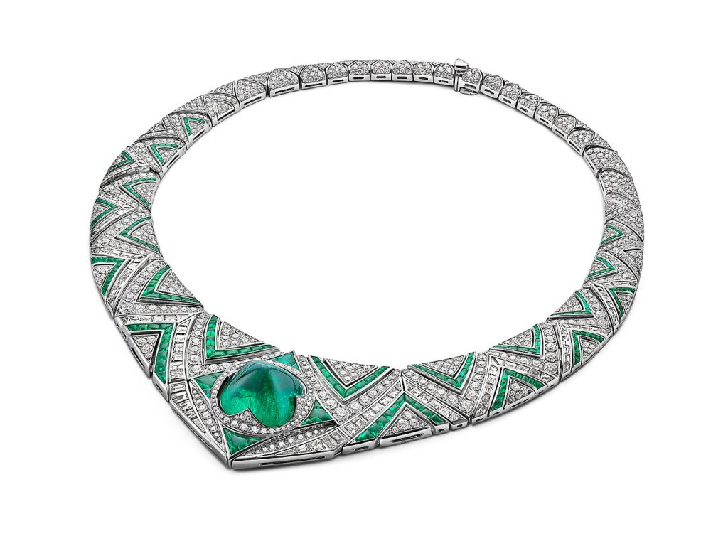 Sugar Loaf Emerald Meraviglia Barocko Bvlgari High Jewelry