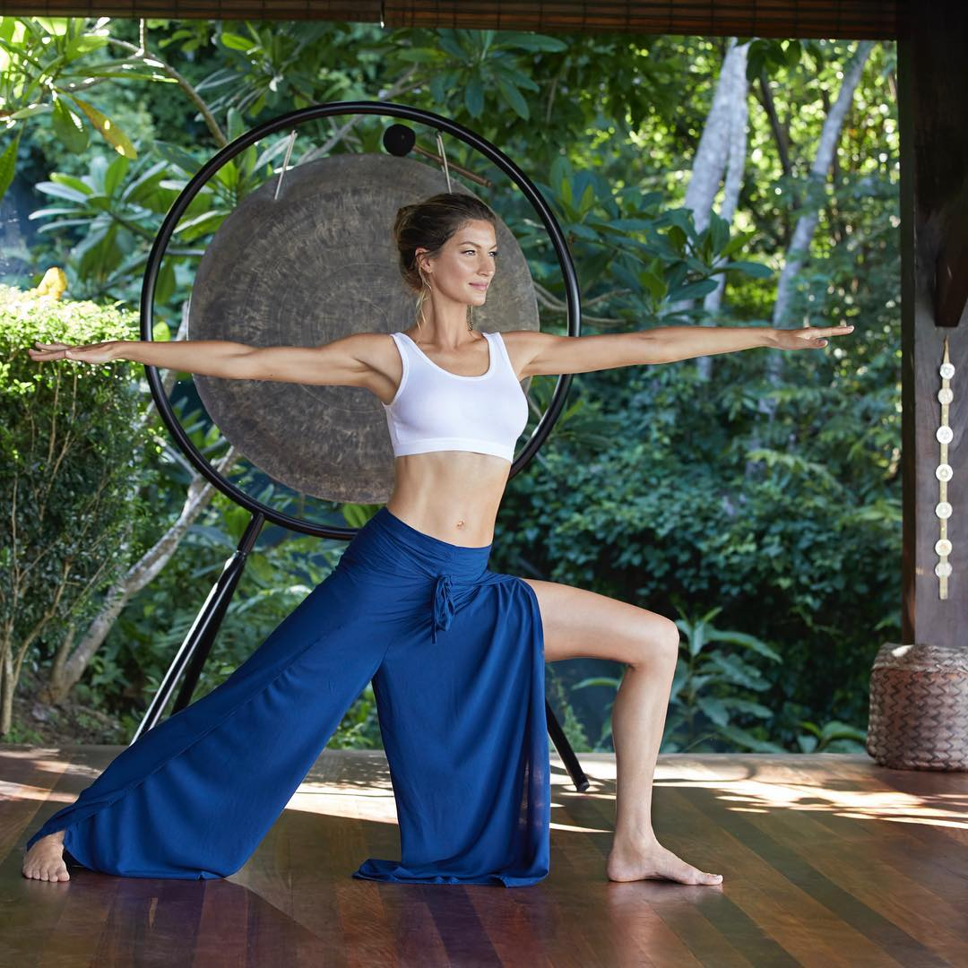 gisele body diet secrets yoga