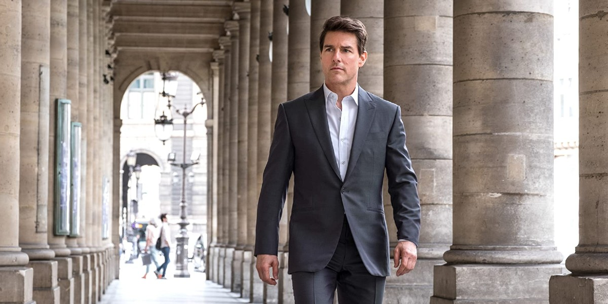 Tom Cruise in Mission Impossible 7