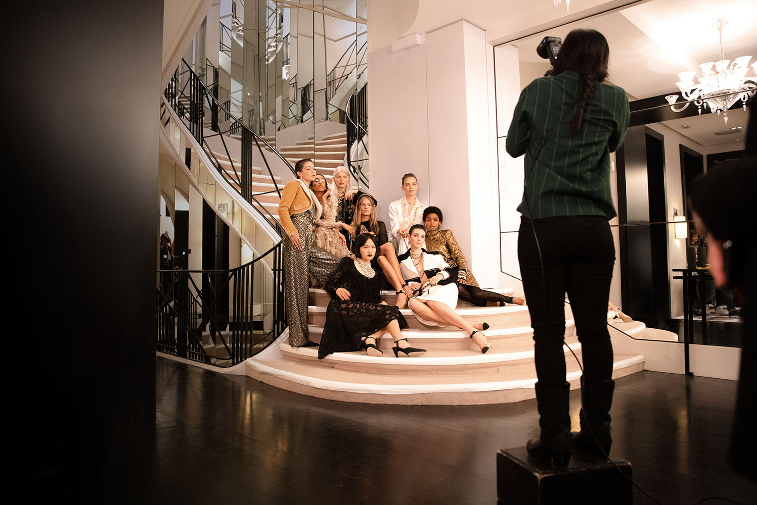 metiers d'art chanel collection behind the scenes