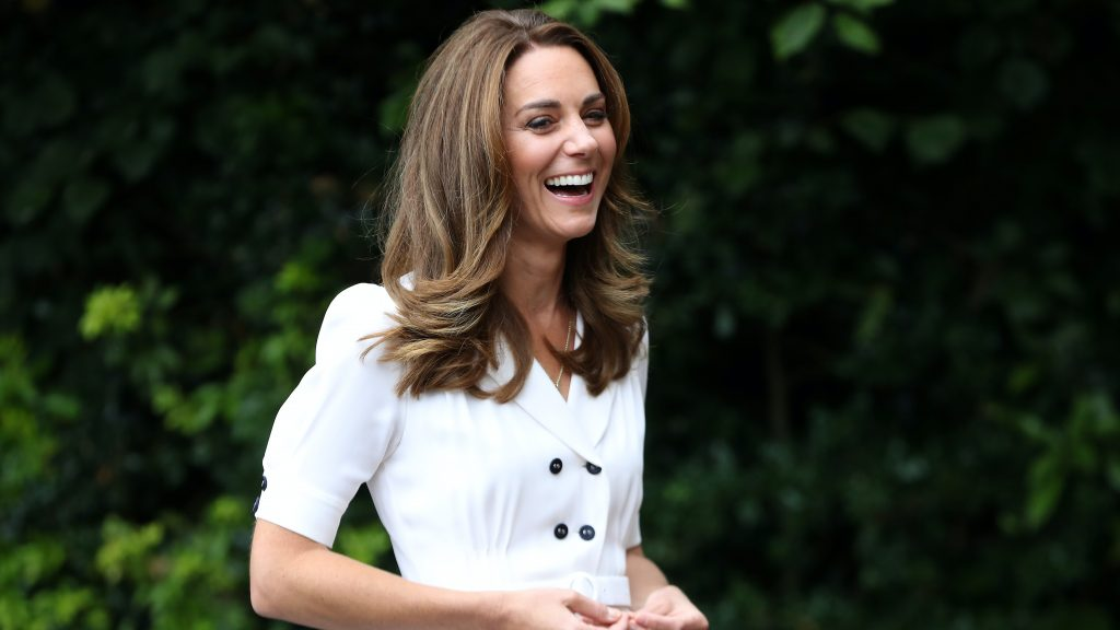 Kate Middleton Wears the Perfect White Summer Dress