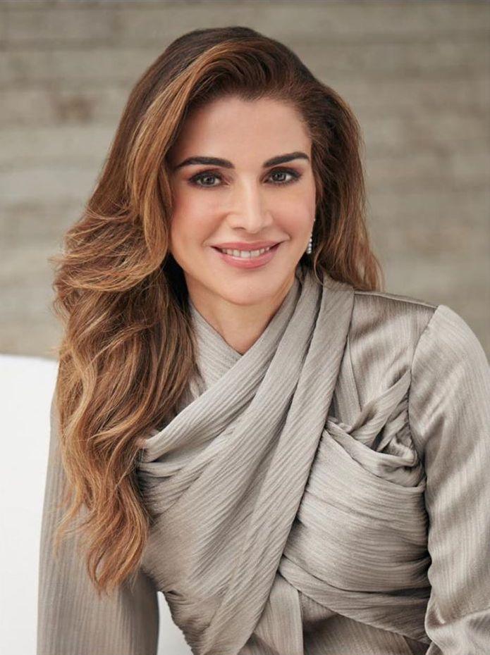 celebrities naked: Queen Rania-al- Abdullah Of Jordan