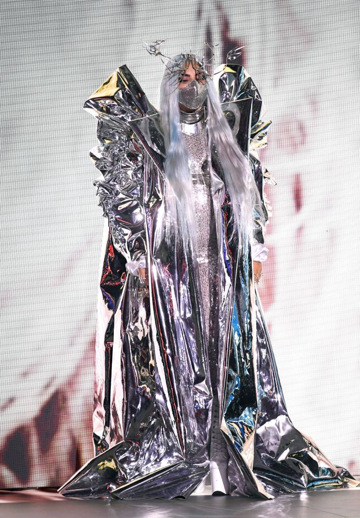 lady gaga hosting outfits for the 2020 vmas