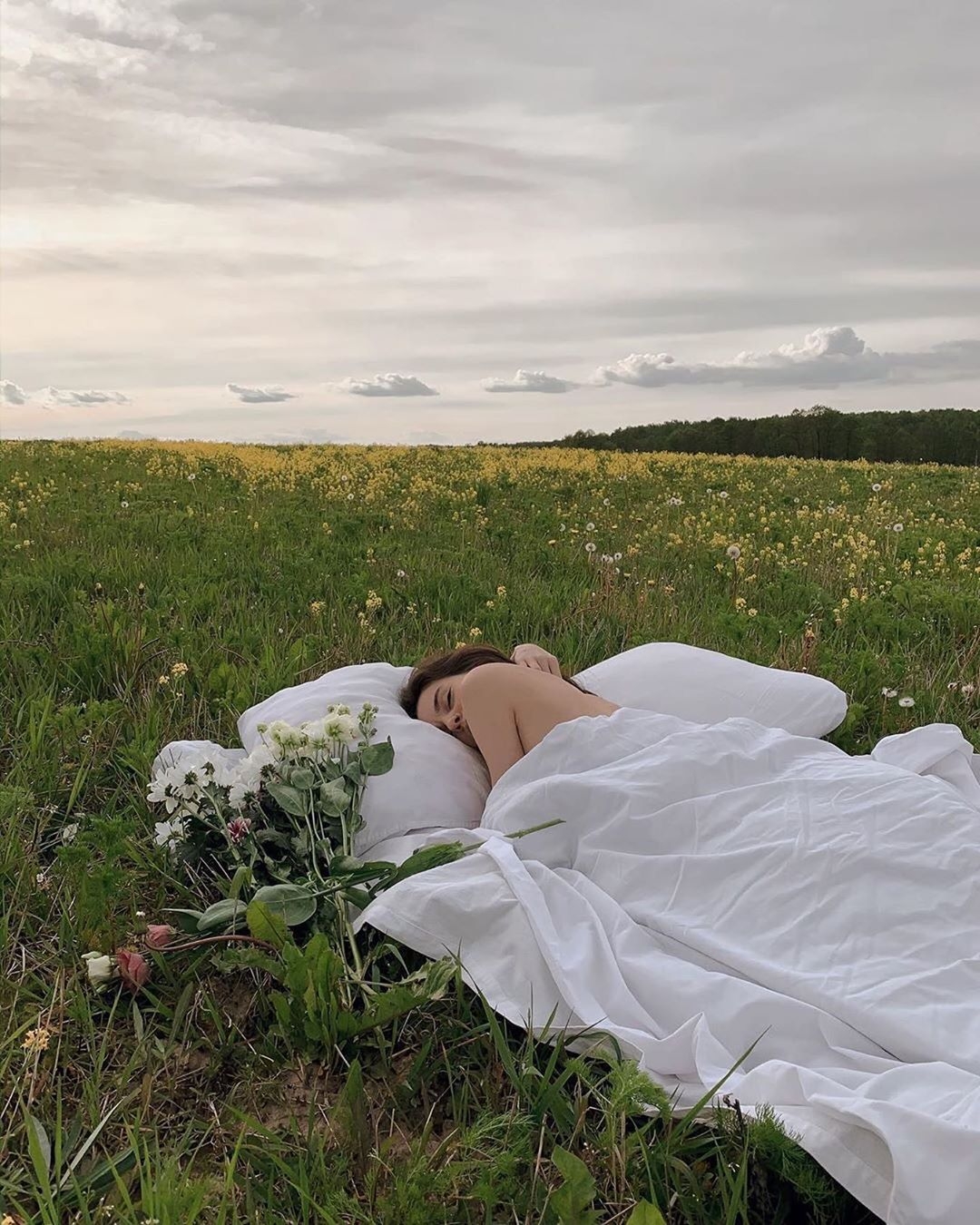 sleeping in a field- how to sleep better