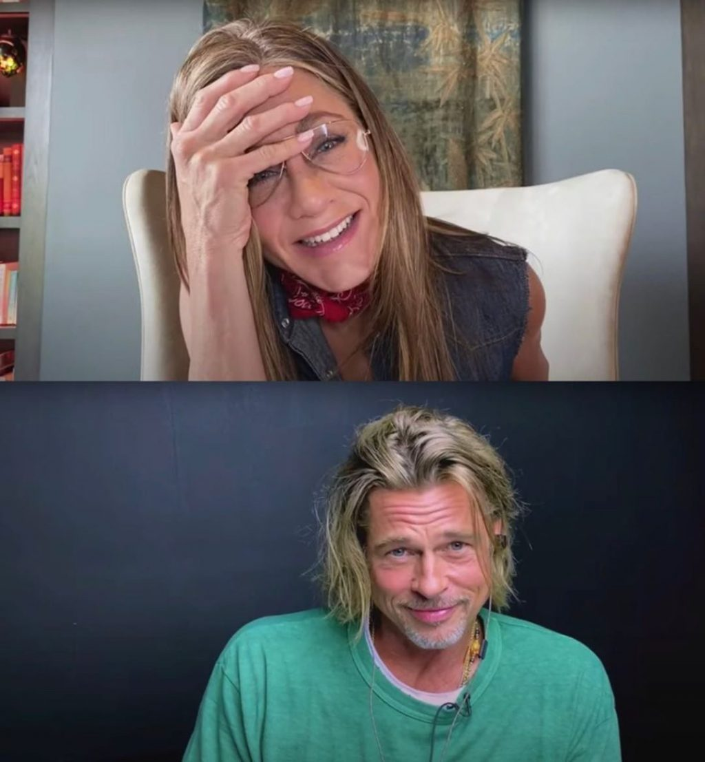 Extra Extra: Jennifer Aniston and Brad Pitt Set the Internet Ablaze