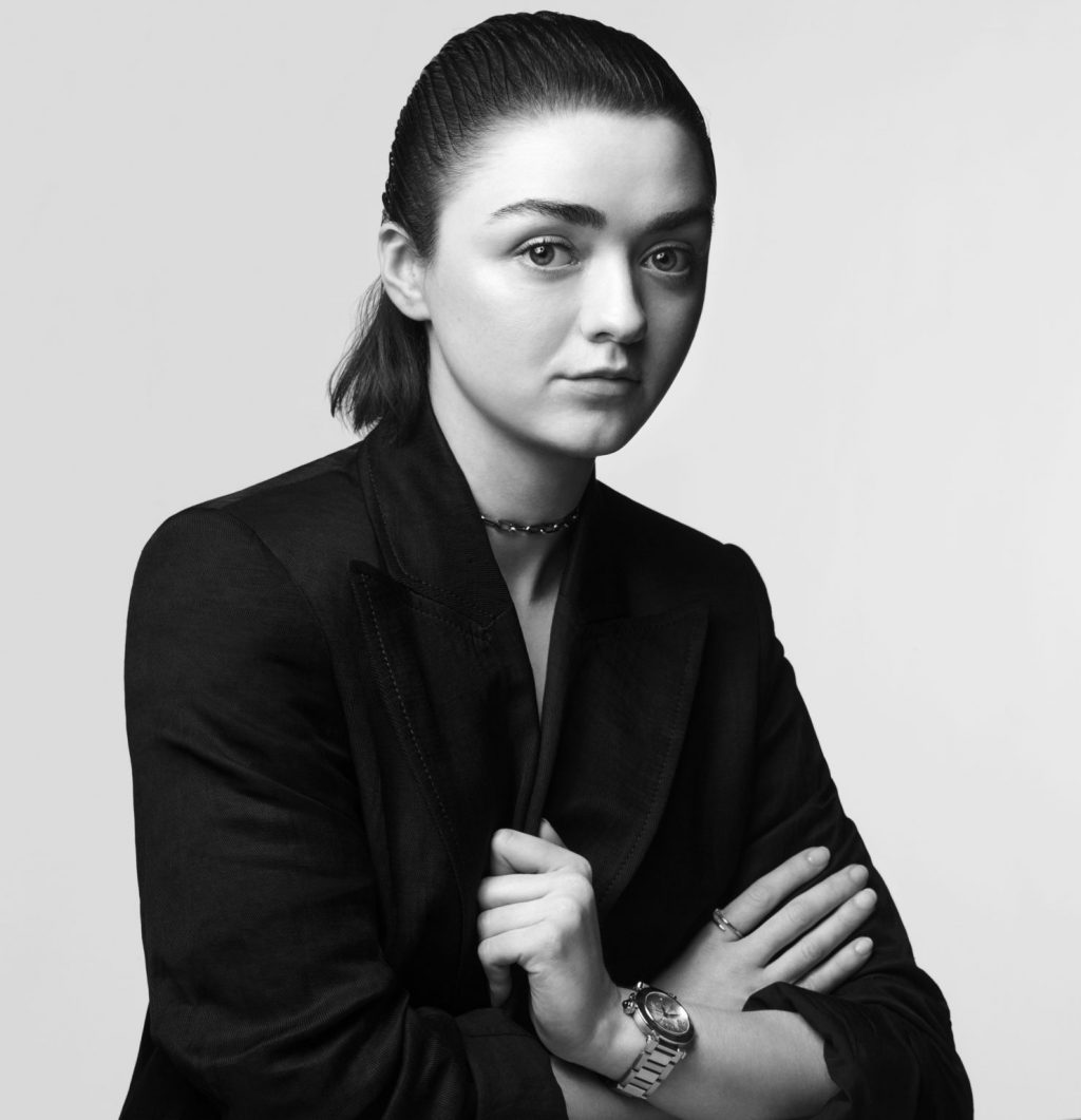 Gen Z Favorite Maisie Williams Stars in New Cartier Video