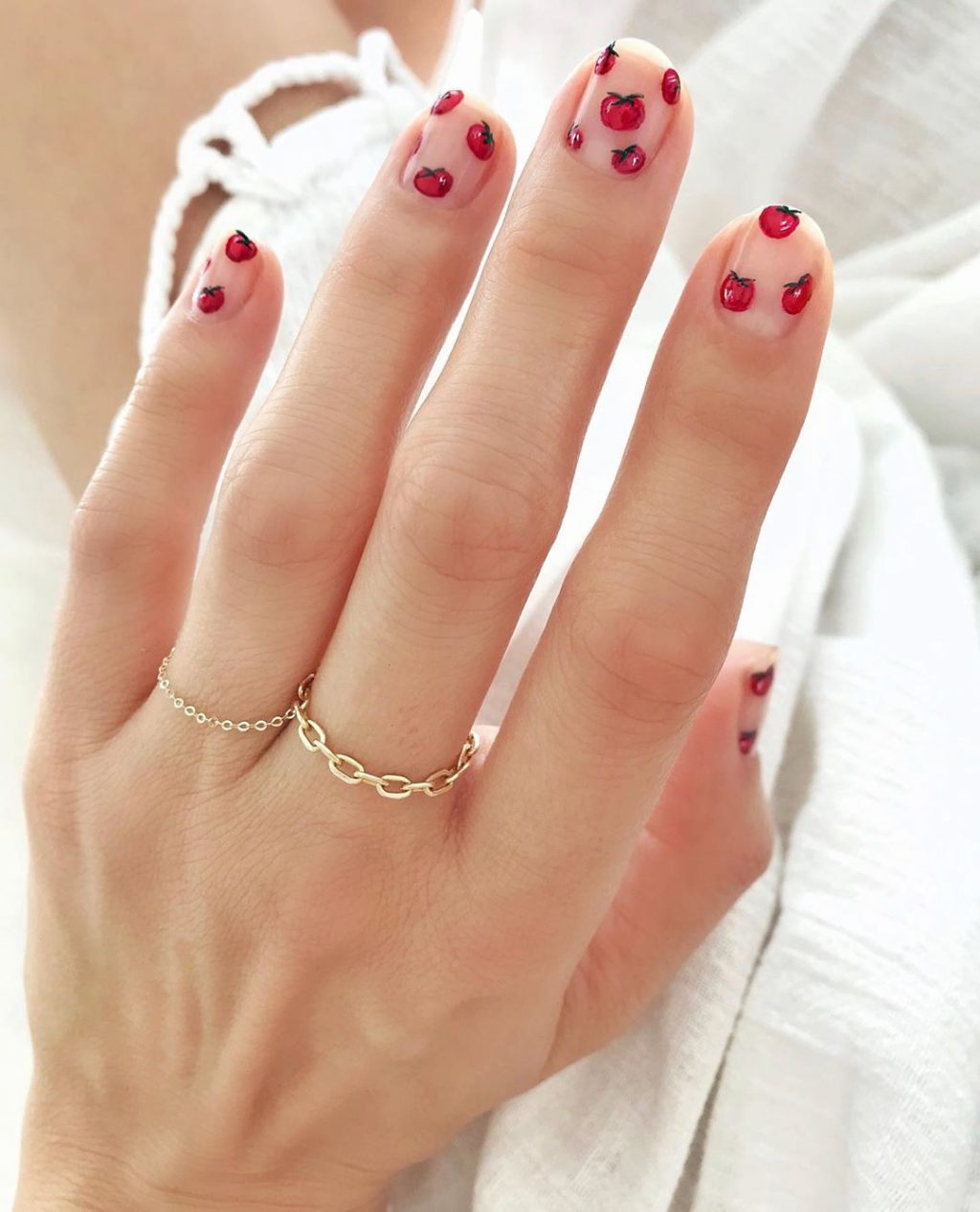 This New Manicure Trend Comes Fresh from the Garden