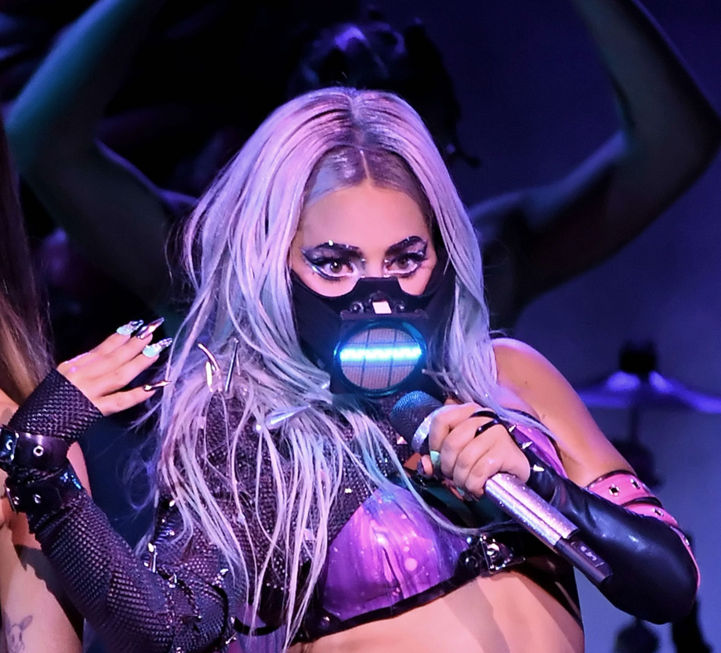 Lady Gaga LED Face Mask