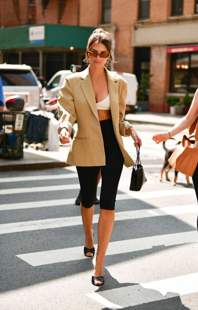 Power Dressing Gets an Unexpected Twist — With Blazers and Bralettes