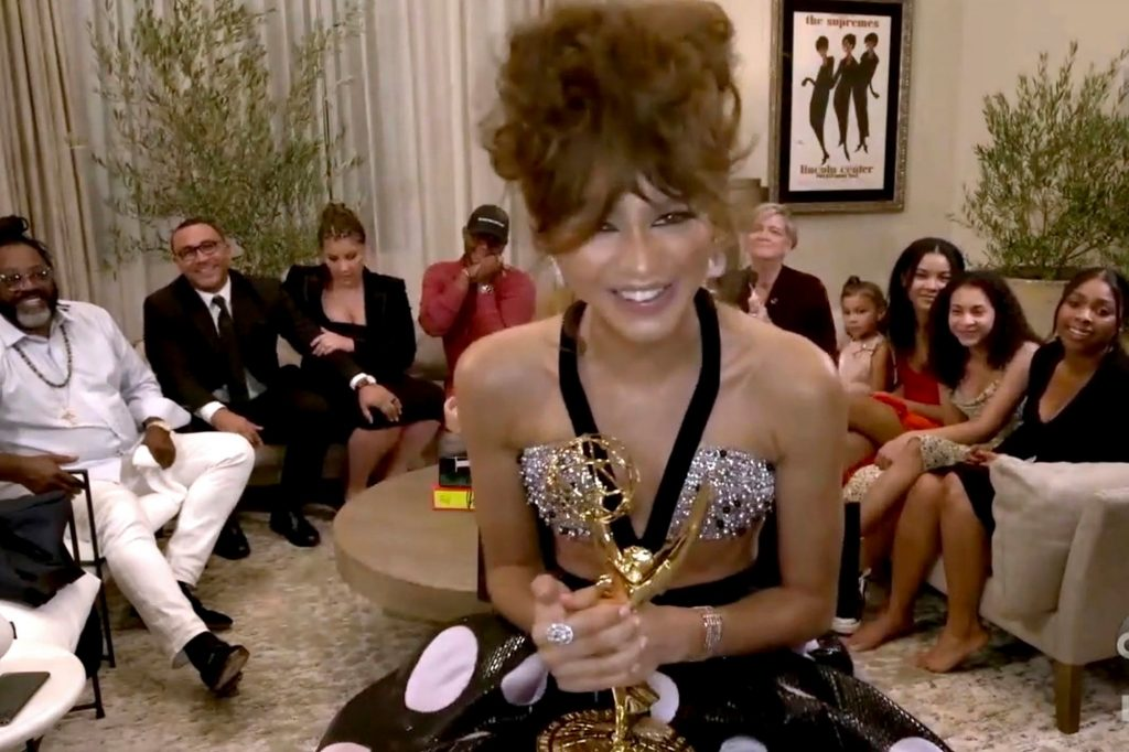 Zendaya Makes Emmy Awards Show History