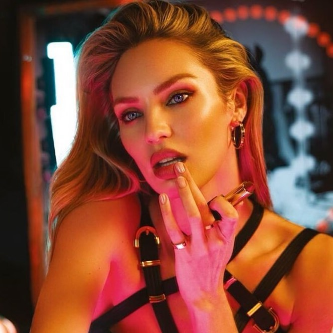 candice swanepoel beauty makeup