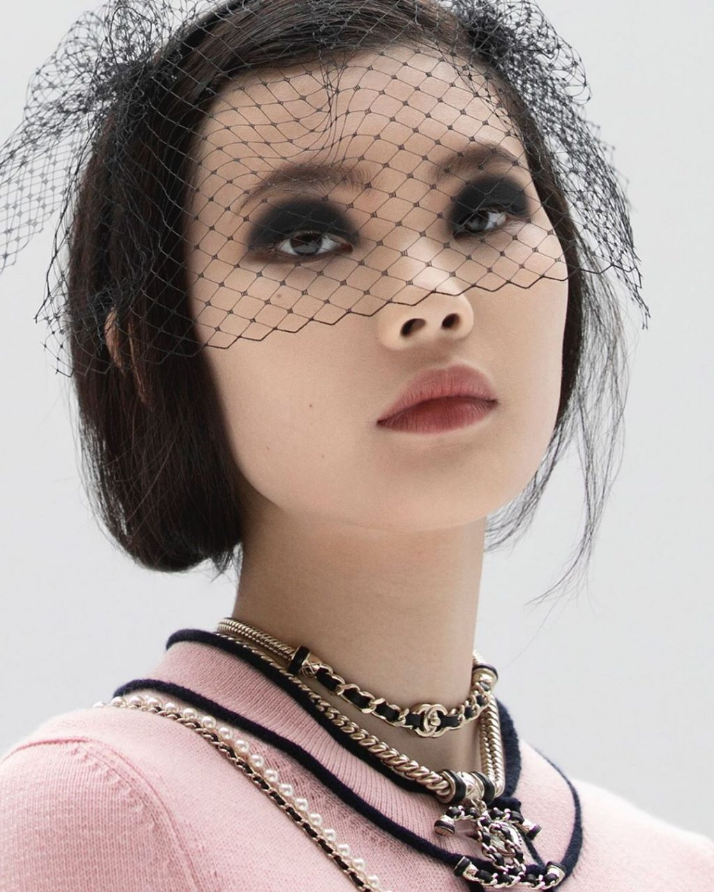 Chanel Proves That Goth-Inspired Makeup Can Actually Be Chic
