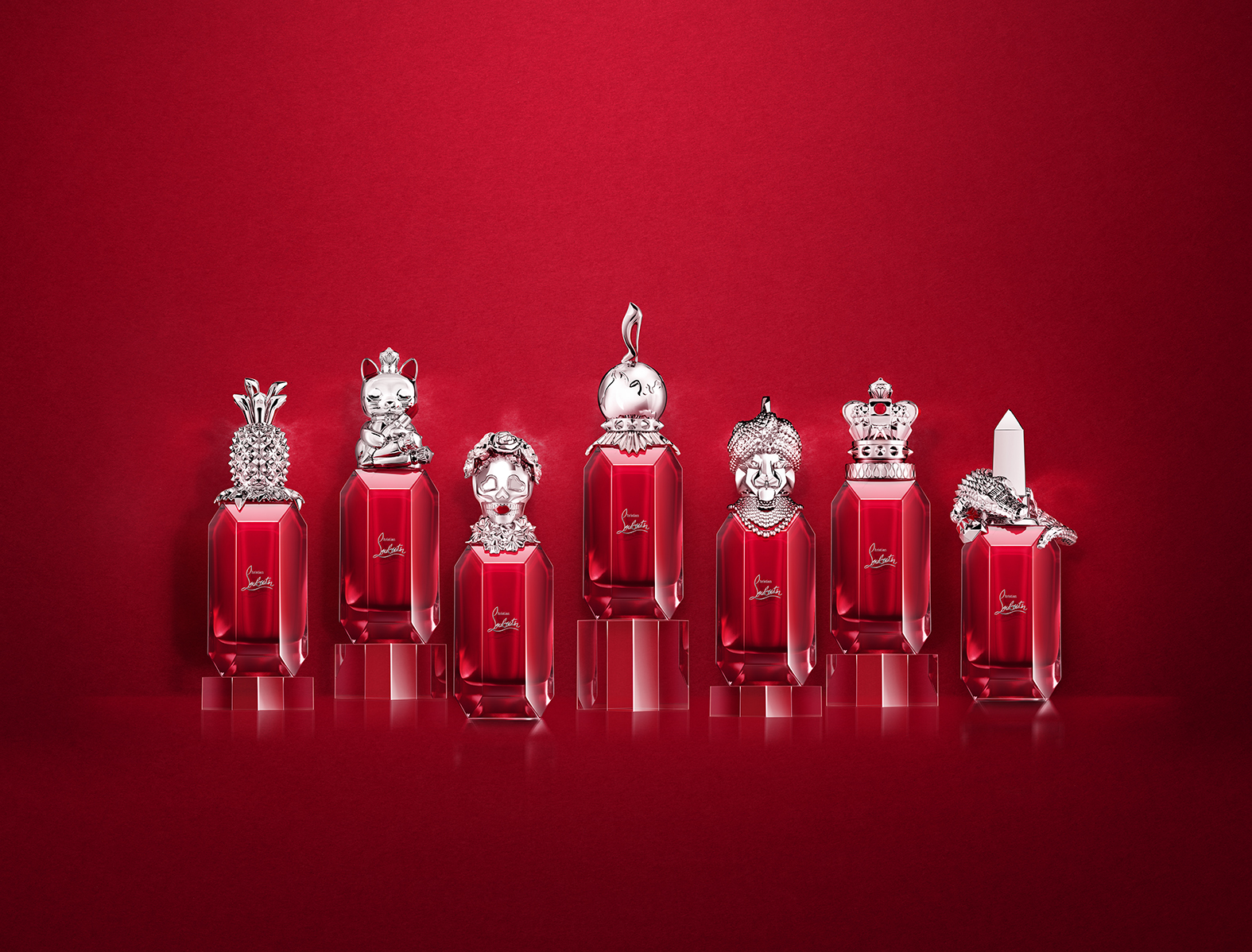 Christian Louboutin Loubiworld Fragrance Collection
